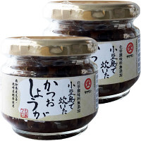 【LOHACO限定】無添加 小豆島で炊いたかつおしょうが(高知県産生姜と枕崎産鰹節) 1セット(2個入) タケサンフーズ