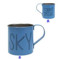 TODAYS SPECIAL(トゥデイズスペシャル) ステンレスマグ SKY 1個