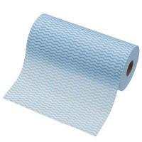 使いきりカウンタークロス ロールタイプ 厚手 ブルー 1ロール(40カット)
