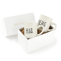 TODAYS SPECIAL 【紙袋付き】HERS & HISマグBOXギフトセット 1個