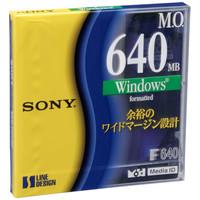 ソニー 3.5型MOディスク 640MB WINDOWSフォーマット EDM-640CDF
