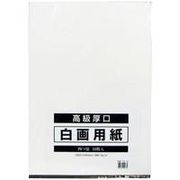 白画用紙 四切サイズ 10枚