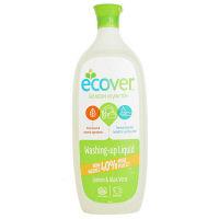 【アウトレット】エコベール食器用洗剤レモン1L EC33021 1本