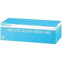 NEWラテックスグローブ パウダーフリー M 241330 1箱(100枚入) 三興化学工業 (使い捨て手袋)