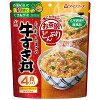 アマノ お茶碗どんぶり 牛すき丼 4食