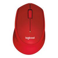 ロジクール(Logicool) 無線(ワイヤレス)マウス M331 SILENT PLUS レッド 光学式/3ボタン/静音タイプ/2年保証 M331RD