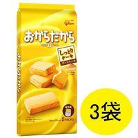おからだから(チーズケーキ) 1セット(5枚入×3袋) 江崎グリコ 栄養補助食品