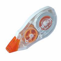 プラス 修正テープ ホワイパープッシュプル 6mm幅×12m 47896 1パック(3個入)