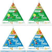 【期間限定】味の素 トスサラ 2種4個セット(イタリアンバジル・シーザーサラダ)