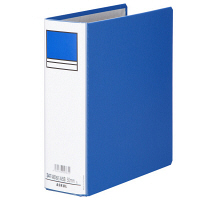 アスクル パイプ式ファイル両開き ベーシックカラースーパー A5タテ 19-0423