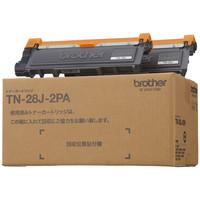 ブラザー レーザートナーカートリッジ TN-28J-2PA 1パック(2個入) (アスクル限定)