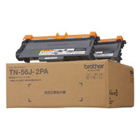 ブラザー レーザートナーカートリッジ TN-56J-2PA 1パック(2個入) (アスクル限定)