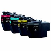 ブラザー 純正 インクカートリッジ LC3119-4PK 1パック(大容量4色入) LC3117/3119シリーズ
