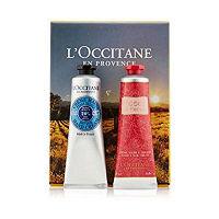 L'OCCITANE(ロクシタン) シア&ローズ ハンドクリームセット BOX入り