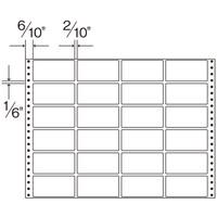 ダイオープリンティング タックフォームラベル 15×11インチ 1箱(500シート入)