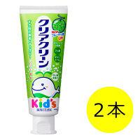 クリアクリーン キッズ メロンソーダ 70g 1セット(2本) 花王 歯磨き粉(子供用)