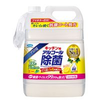 フマキラー キッチン用アルコール除菌スプレー 詰替用5L 1箱(3個入)