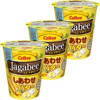 カルビー じゃがビー(Jagabee) しあわせバター 38g 1セット(3個入)