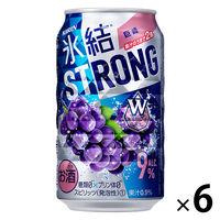 キリン 氷結ストロング 巨峰 350ml 6缶