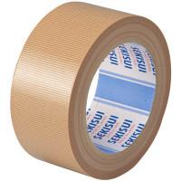 積水化学工業 布テープ No.600M 0.208mm厚 幅50mm×長さ25m巻 茶 1巻