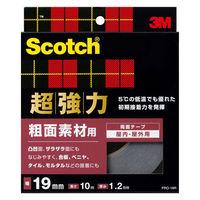 スリーエム ジャパン スコッチR超強力両面テープ 粗面素材用 19x10 PRO-19