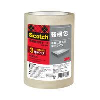 スリーエム ジャパン スコッチ(R)透明梱包用テープ軽量物用 309-3PN 1パック(3巻入)