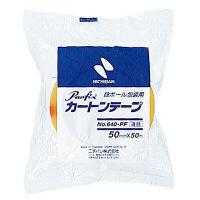 ニチバン Panfix カートンテープ 640PFー50 5巻 (直送品)