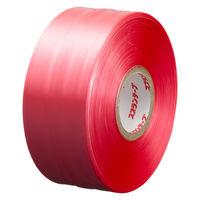 スズランテープ 赤 1巻 タキロンシーアイ