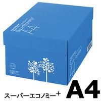 コピー用紙 マルチペーパー スーパーエコノミー+ A4 1箱(5000枚:500枚入×10冊) アスクル