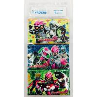 ポケットティッシュ 仮面ライダーエグゼイド 8組×6個パック入り 河野製紙