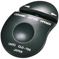 OHTO レターオープナーBK黒 CLO-700