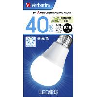 LED電球 昼光色 E26 40W LDA5D-G/V6 三菱化学メディア