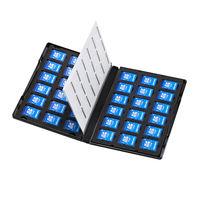 サンワサプライ DVDトールケース型メモリーカード管理ケース(SDカード用) FC-MMC21SD