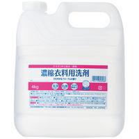 ニチゴー すすぎ1回 濃縮衣料用洗剤 詰替え 業務用 4kg 日本合成洗剤【超コンパクト衣料用洗剤】
