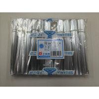 共和 ビニタイPET3層 4×12 銀 1000/ポリ 幅4×長さ100mm(1本) QA-120-12T 1袋(1000本入)