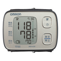 オムロン手首式血圧計 HEM-6220 シルバー HEM-6220-SL オムロンヘルスケア