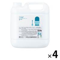 スーパートイレクリーナー除菌・消臭 詰め替え 業務用4L ロケット石鹸 1箱(4個入)