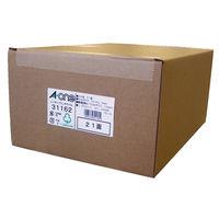 【大容量】 エーワン ラベルシール 表示・宛名ラベル レーザープリンタ マット紙 白 A4 21面 1箱(1000シート入) 31162(取寄品)