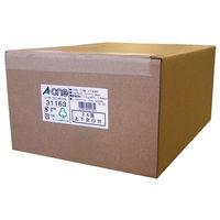 【大容量】 エーワン ラベルシール 表示・宛名ラベル レーザープリンタ マット紙 白 A4 24面 1箱(1000シート入) 31163(取寄品)