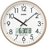 CASIO(カシオ)掛け時計 [電波 ステップ チャイム カレンダー] 直径360mm IC-2100J-9JF 1個