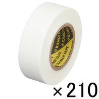 「現場のチカラ」 カモ井加工紙 マスキングテープ 白 18mm×18m 1セット(210巻入) KMT750WH18