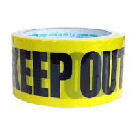 パッキングテープ KEEPOUT 業務パック24個 幅48mm×約25m巻 KEEPOUT413457 プライムナカムラ (取寄品)