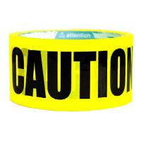 パッキングテープ CAUTION 業務パック24個 幅48mm×約25m巻 CAUTION096421 プライムナカムラ  (直送品)