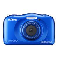 ニコン 防水デジタルカメラ 「COOLPIX」 W100 ブルー COOLPIX W100 BL