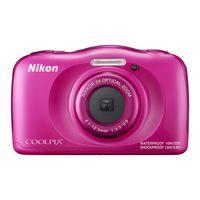 ニコン 防水デジタルカメラ「COOLPIX」 W100 ピンク COOLPIX W100 PK