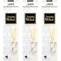 サワデー香るStick パルファムブラン70mL 詰替  1セット(3個:1個×3) 小林製薬