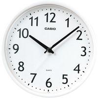 CASIO(カシオ計算機) ちょっと小さめクオーツ時計  [クオーツ 掛け 時計] IQ-58ASK-7JF 1セット(5個:1個×5)