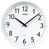 CASIO(カシオ計算機) ちょっと小さめクオーツ時計  [クオーツ 掛け 時計] IQ-58ASK-7JF 1セット(10個:1個×10)
