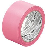 「現場のチカラ」 【養生テープ】 ピンク 幅50mm×25m アスクル 1セット(90巻:30巻入×3箱)