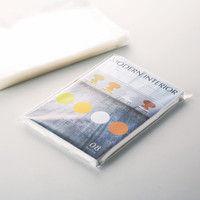今村紙工 CPP袋(フタ付) DM用 A4用底マチ付き 横250×縦320+フタ60mm テープ付き 透明封筒 1セット(1000枚:100枚入×10袋)